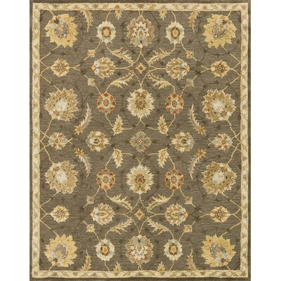 Kegler Hand-Tufted Coffee/Beige Area Rug