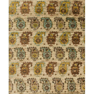 Xavier Hand-Knotted Sand Area Rug