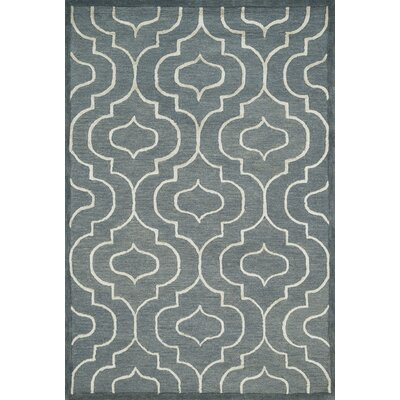 Panache Hand-Tufted Gray/Ivory Area Rug