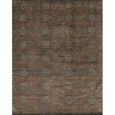 Essex Hand-Knotted Tobacco Area Rug