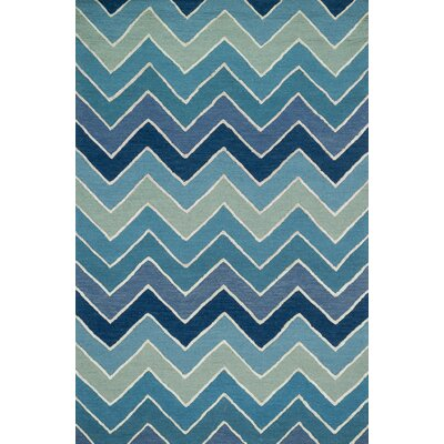 Panache Hand-Tufted Blue Area Rug
