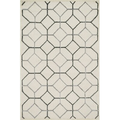 Panache Hand-Tufted Ivory/Gray Area Rug