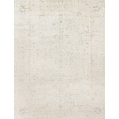 Pierce Hand-Knotted Sky/Glacier Area Rug