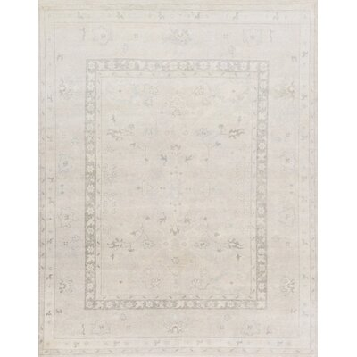Pierce Hand-Knotted Silver Area Rug
