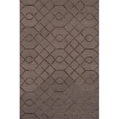 Panache Hand-Tufted Raisin/Coffee Area Rug