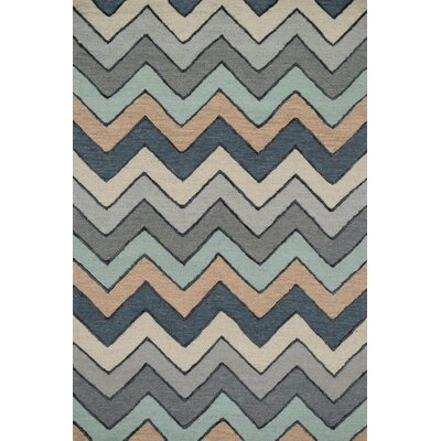 Panache Hand-Tufted Gray Area Rug