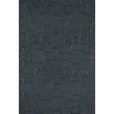 Panache Hand-Tufted Charcoal/Black Area Rug