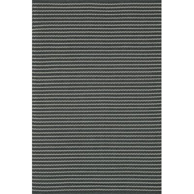 Kirchoff Hand-Woven Charcoal Indoor/Outdoor Area Rug