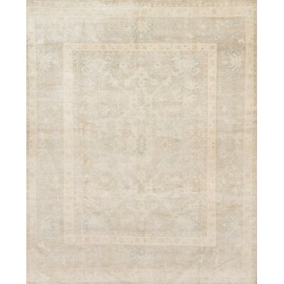 Crowe Hand-Knotted Smoke Area Rug
