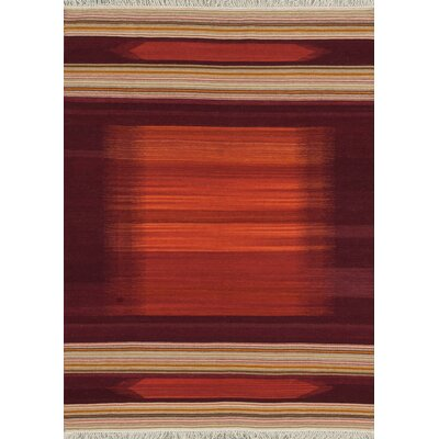 Zapata Handmade Red Area Rug