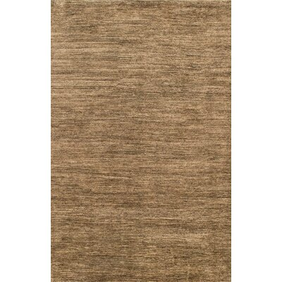 Danek Hand-Woven Dark Brown Area Rug