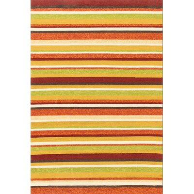 Venice Beach Handmade Sunset Indoor/Outdoor Area Rug