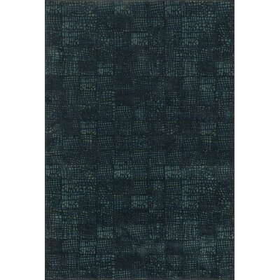 Vista Black/Blue Area Rug