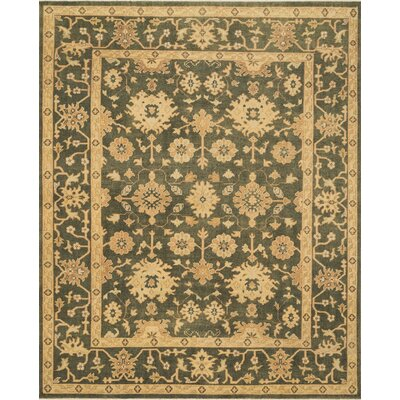 Vernon Hand-Knotted Brown Area Rug