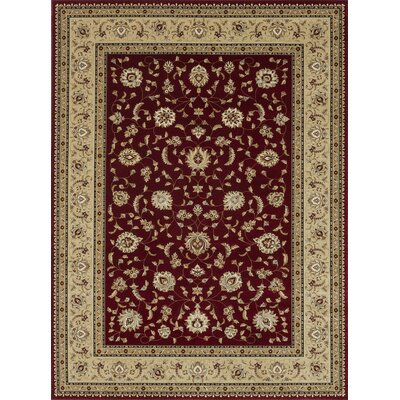 Kirkman Red/Beige Area Rug