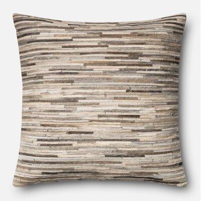 Throw Pillow Color: Gray