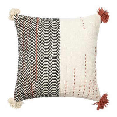 Dhurri Cotton Throw Pillow