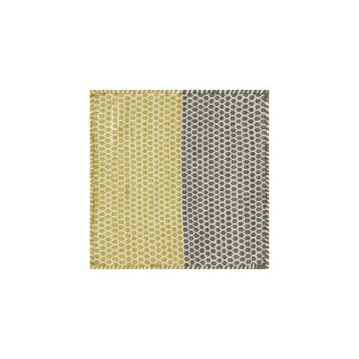 Quays Hand-Tufted Yellow/Gray Area Rug