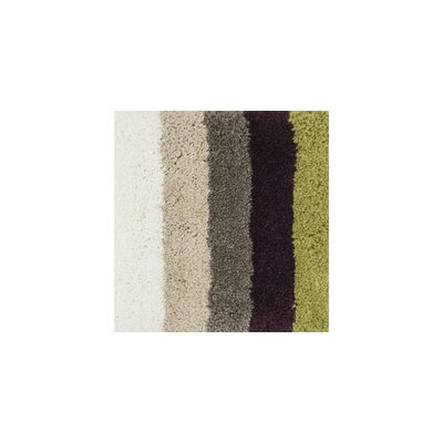Chontos Hand-Tufted Gray/Brown/Green Area Rug