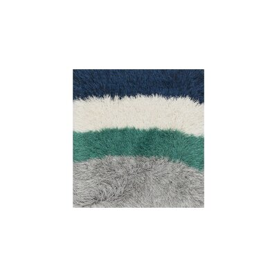 Allure Shag Hand-Tufted Gray/Green/Blue Area Rug