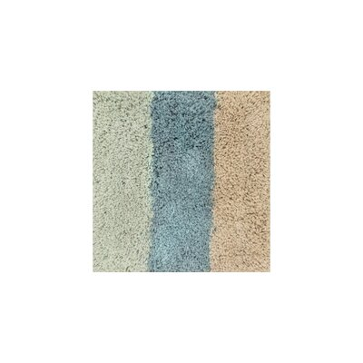 Chontos Hand-Tufted Blue/Green/Brown Area Rug