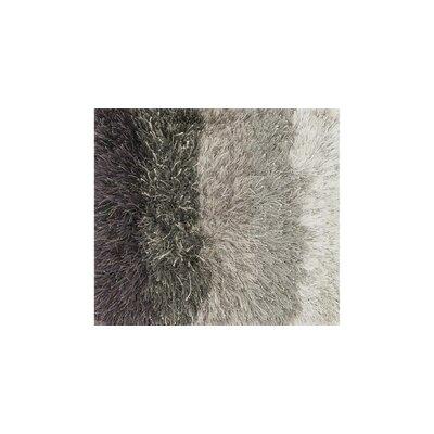 Vida Shag Hand-Woven Gray Area Rug