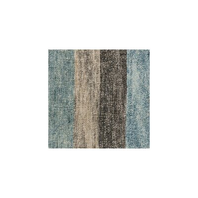 Serena Hand-Knotted Gray/Blue Area Rug
