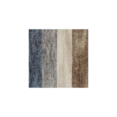 Serena Hand-Knotted Gray/Blue/Brown Area Rug