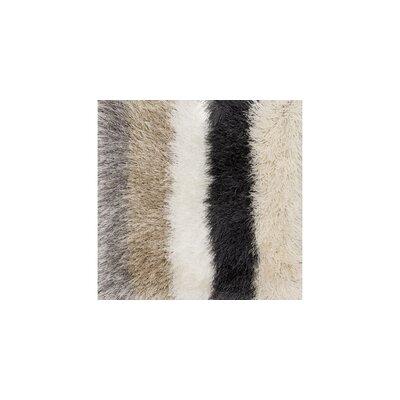 Orian Shag Hand-Tufted Beige/Gray Area Rug