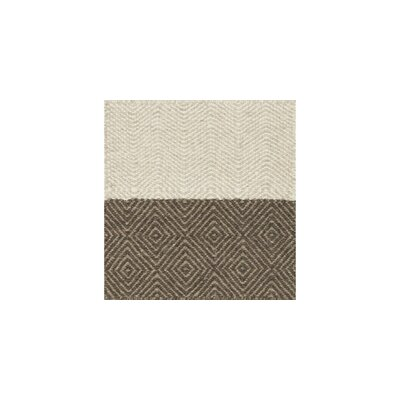Oakwood Hand-Woven Beige/Brown Area Rug