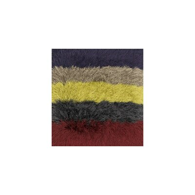 Allure Shag Hand-Tufted Red/Black/Yellow Area Rug