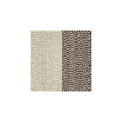 Quays Hand Woven Wool Beige/Brown Area Rug