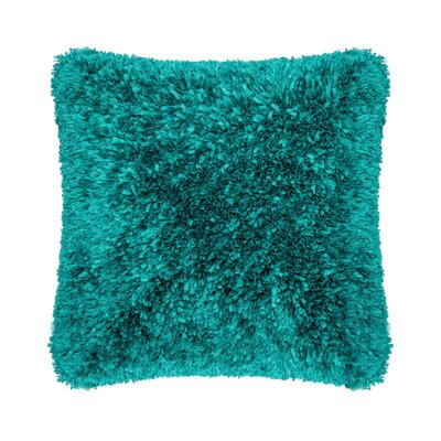 Throw Pillow Color: Peacock