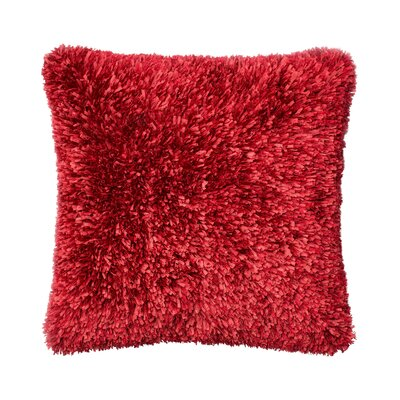 Keen Throw Pillow Color: Red
