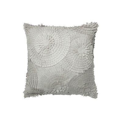 Cotton Throw Pillow Color: Gray