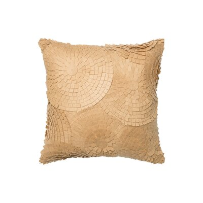 Cotton Throw Pillow Color: Sand