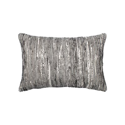 Tryon Lumbar Pillow Color: Black