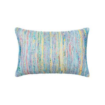 Tryon Lumbar Pillow Color: Blue