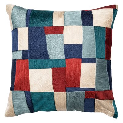 Blue & Multi Throw Pillow