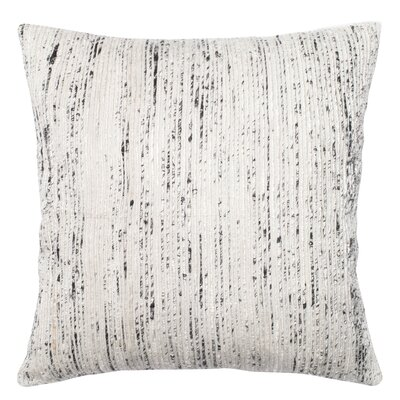 Tsang Throw Pillow Color: Silver