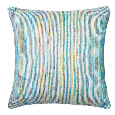 Tsang Throw Pillow Color: Blue