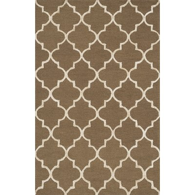 Kirkbride Brown/Beige Area Rug Rug Size: Rectangle 23 x 39