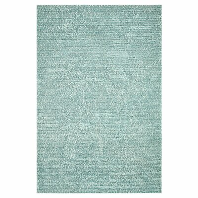 Happy Shag Hand-Tufted Blue Area Rug Rug Size: 36 x 56