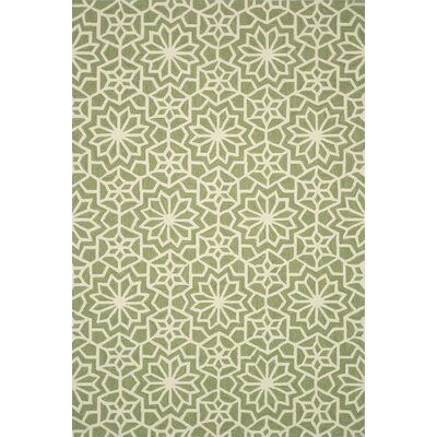 Kips Bay Hand-Woven Green Area Rug Rug Size: Rectangle 23 x 39