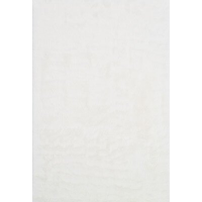 Danso Ivory Area Rug Rug Size: Rectangle 76 x 96