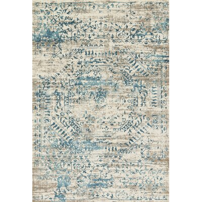 Kingston Ivory Area Rug Rug Size: 53 x 76