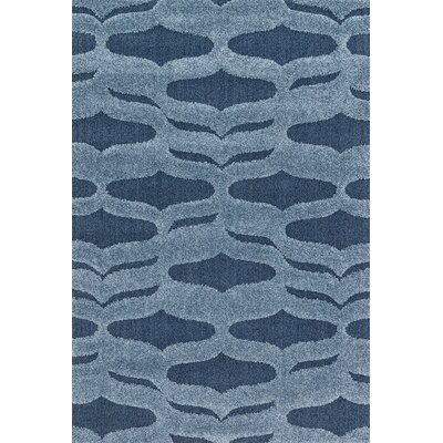 Enchant Blue Area Rug Rug Size: 53 x 77