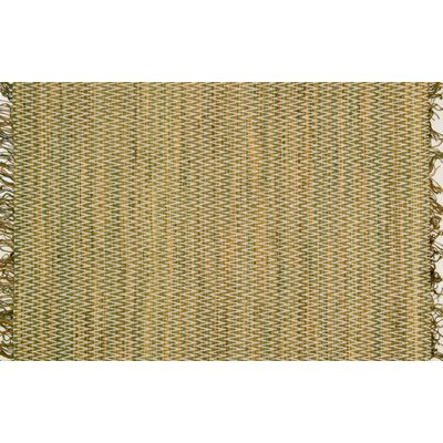 Faraci Hand-Woven Moss Area Rug Rug Size: Rectangle 23 x 39