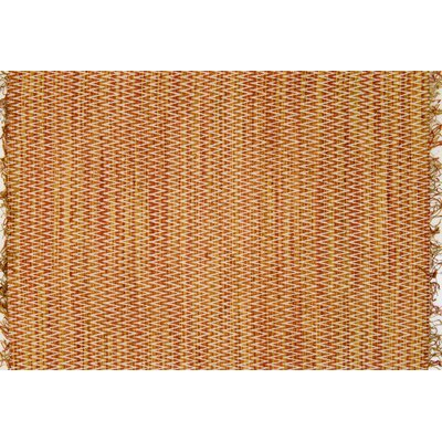 Faraci Hand-Woven Orange Area Rug Rug Size: Rectangle 23 x 39