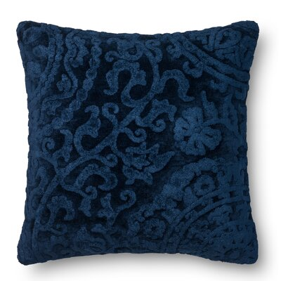 DR. G Throw Pillow Color: Indigo
